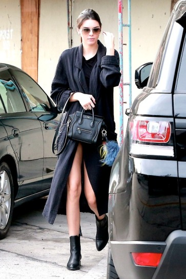 Kendall Jenner Spotted Out In West Hollywood